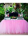 Crăciun Halloween Zi de Naștere Absolvire Cheful Burlacelor Bal Petrecerea Baby Shower Ziua Îndrăgostiților organza Decoratiuni nunta