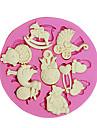 Picioare de urs 3d copil jucărie mucegai unelte meșteșugărești matrite de silicon fondantă de zahăr ciocolată pentru tort Cupcake
