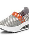 Pentru femei Pantofi Țesătură Primăvară / Vară Confortabili / Tălpi cu Lumini Adidași Platformă / Toc Platformă Vârf rotund / Vârf Închis