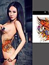 1 Tatueringsklistermärken Djurserier Annat Ogiftig Ländrygg VattentätBarn Dam Herr Vuxen Tonåring Blixttatuering tillfälliga tatueringar