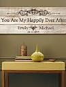 e-home® cadru vă pânză semnatura personalizate sunt mea până la adânci bătrâneți