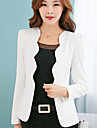 Women\'s Blazer - Solid, Patchwork