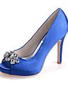 Dame - Pantofi de nunta - Decupați - Sandale - Nuntă / Party & Seară -Negru / Albastru / Roz / Violet / Roșu / Fildeș / Alb / Argintiu /