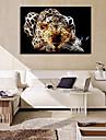 Abstrakt Djur En panel Horisontell Tryck väggdekor For Hem-dekoration