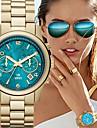 Pentru femei Ceas La Modă Quartz Calendar Aliaj Bandă Lux Auriu