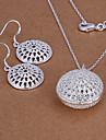 Dame Seturi de bijuterii Draguț Petrecere Modă Petrecere Ocazie specială Zi de Naștere Argilă Colier Σκουλαρίκια