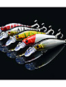 5 pcs Fiskbete Hårt bete Spigg Lock förpackningar Hårt Plast Flytande Sjöfiske Kastfiske Färskvatten Fiske / Abborr-fiske / Drag-fiske / Trolling & Båt Fiske
