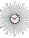 """Modern/Contemporan Ceas de perete,Rotund Culoarea Fierului 50 x 50 x 3(19.69"""" x 19.69"""" x 1.18"""") Interior Ceas"""