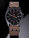 Bărbați Ceas de Mână Quartz Piele Bandă