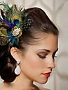 Penas Acessorios de cabelo Pena perucas Acessorios Mulheres pcs 6-10cm cm