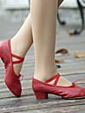 Încălțăminte de Antrenament - Pantofi de dans (Negru/Roz/Roșu) - Non personalizabile - Pentru femei