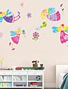 Animaux Personnage Romance Floral Bande dessinee Stickers muraux Autocollants avion Autocollants muraux decoratifs, Vinyle Decoration