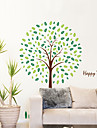 Cuvinte & Citate Desene Animate Botanic Perete Postituri Autocolante perete plane Autocolante de Perete Decorative, Vinil Pagina de