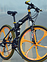 Hopfällbar Cykel Mountainbikes Cykelsport 27 Hastighet 26 tum/700CC MICROSHIFT TS70-9 Skivbroms Springergaffel Bakhjulsupphängning Vanlig
