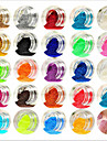 Smuk / 24 farver Negle kunst Manicure Pedicure Akryl Abstrakt / Klassisk / Bryllup Daglig