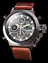 Bărbați Ceas Sport Ceas Militar  Ceas de Mână Ceas digital Japoneză Quartz Piloane de Menținut Carnea Alarmă Calendar Cronograf Rezistent