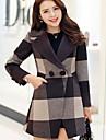 Femei Vintage Femei Palton Manșon Lung Altele