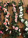 Flori artificiale 1 ramură Flori de Nuntă Trandafiri Față de masă flori