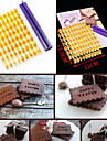 kaka& cookie alfabetformar typografi brev bakewares kök& dining