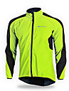 Nuckily Hombre Chaqueta de Ciclismo Bicicleta Chaqueta Paravientos Camiseta / Maillot Mantiene abrigado Resistente al Viento Transpirable Deportes Elastan Verde / Azul Ropa Ropa para Ciclismo