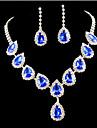 Pentru femei Zirconiu Cubic Diamante Artificiale Set bijuterii Include Σκουλαρίκια Coliere - Draguț Petrecere Plin de Culoare Modă Piete