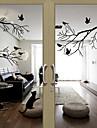 păsări fereastră stil autocolante fereastră decalcomanii pe autocolante usi pvc copac
