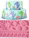dantelă fondantă mucegai tort decorare mucegai culoare aleatorii FM-09