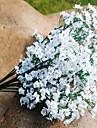 Flori artificiale 1 ramură Pastoral Stil Respirație Copil Față de masă flori