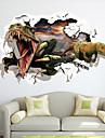 Animale / Modă / Fantezie / #D Perete Postituri 3D Acțibilduri de Perete , Vinyl stickers 87*56cm
