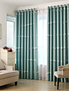 Blackout Curtains Drapes Bedroom Animal Polyester Print & Jacquard