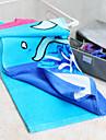 Strand handduk Blå Hög kvalitet 100% Bomull Handduk
