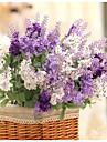 1 Gren Silke Plast Ljusblå Bordsblomma Konstgjorda blommor