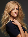 Synthetische Peruecken Locken / Grosse Wellen Blond Asymmetrischer Haarschnitt # 27 Blondine Synthetische Haare Damen Natuerlich / Modisch Blond Peruecke Lang Kappenlos