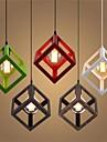 Retro Hängande lampor Glödande - Ministil, 110-120V / 220-240V, Varmt vit, Glödlampa inte inkluderad
