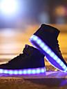 Damă Bărbați Pantofi Usori PVC Primăvară Vară Toamnă Iarnă De Atletism Casual Pantofi Usori Dantelă Bandă Magică Alb Negru Rosu