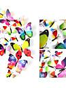 3D Wall Stickers Väggstickers i 3D , PVC 2pcs 12cm /2pcs 9cm/ 4pcs 8cm / 4pcs 4cm