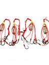 Fisketillbehör Fiske - 4 st - Lätt att använda Rostfritt stål/järn - Sjöfiske Flugfiske Kastfiske Isfiske Färskvatten Fiske Andra