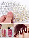 12pcs - Autocollants 3D pour ongles / Bijoux pour ongles - Doigt - en Adorable / Punk - 62mm*52mm