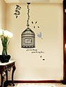 Paysage Noel Floral Vacances Stickers muraux Autocollants muraux 3D Autocollants muraux decoratifs, Vinyle Decoration d\'interieur Calque