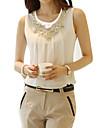 Pentru femei Mărime Plus Size Bluză Șic Stradă - Mată Dantelă Ștrasuri