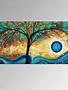 vizual star®new ulei de norocos copac manual pictura contemporană panza opera de arta gata să stea