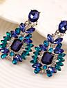 Dame Cercei Picătură bijuterii de lux Pietre sintetice Zirconiu Cubic Aliaj Bijuterii Pentru