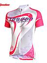 TASDAN Dame Kortærmet Cykeltrøje Cykel Trøje / Tøjsæt, Hurtigtørrende, Ultraviolet Resistent, Åndbart