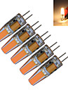 5pcs 3000-3200/6000-6500 lm G4 LED-kronljus T 1 lysdioder COB Dekorativ Varmvit Kallvit AC 12V DC 12 V