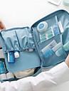 Resväska Resenecessär Kosmetisk påse Resebag Bagageorganisatör Vattentät Bärbar Atomisk Multifunktion Packpåsar för Kläder oxford Nylon /