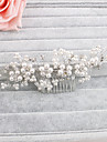 Perle Îmbrăcăminte de păr 1 Nuntă / Ocazie specială / Casual Diadema