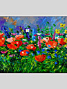 HANDMÅLAD Stilleben Horisontell Panoramautsikt, Klassisk Moderna Traditionell Europeisk Stil Duk Hang målad oljemålning Hem-dekoration En