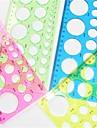 Arta de a face șablon rotund hârtie quilling - 4 culoare aleatorii