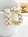 Dame Cercei Stud Cercei Rotunzi  bijuterii de lux costum de bijuterii Perle Imitație de Perle Zirconiu Cubic Diamante Artificiale Aliaj