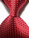 masculin de partid / de seară roșu țigară țesute cravată cravată cravată